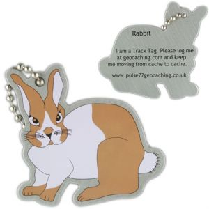 Bunny Rabbit Track Tag